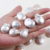 High quality 25*30 mm big reborn freshwater pearl beads