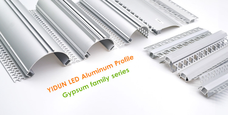 YIDUN Drywall Mount Channel For Hotel Linear Light Housing