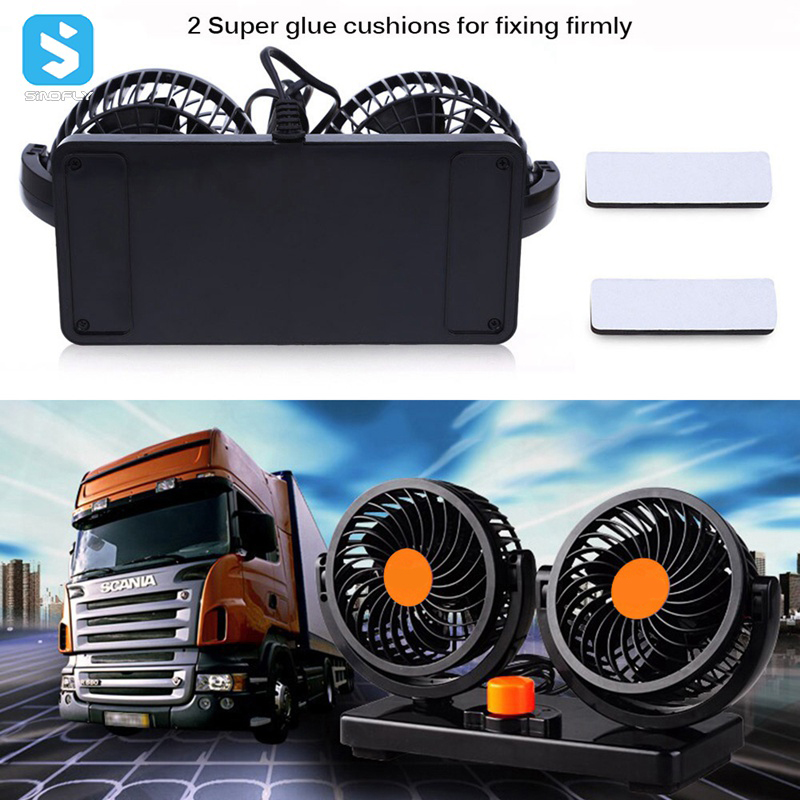 12V 24V 8W Automobile Car Fan Car Truck Vehicle Cooling Air Fan Cooler Fan