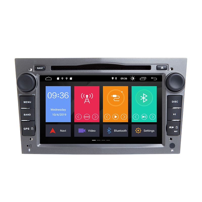 2 Din Android 9.0 Car DVD Player For Opel Vectra C Zafira B Corsa <strong>D</strong> C Astra H G J Meriva Vivaro Multimedia GPS Navigation Radio