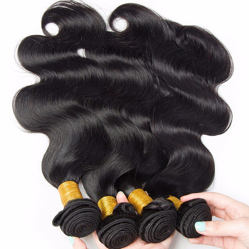 Leyuan Guangzhou hair vendors free sample, body wave 7A brazilian virgin hair, double drawn virgin effin hair weaves for black <strong>w</strong>