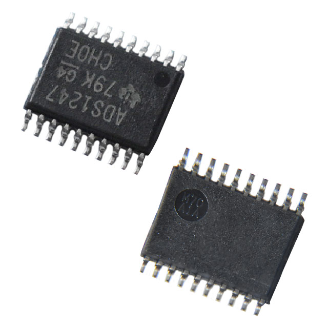 Provide integrated circuits microcontrollers drivers controllers Analog to Digital Converters (ADC)  ADS1247IPW