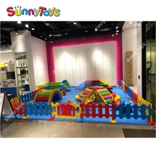 Toddler indoor play equipment oem kindergarten kids soft playground equipment