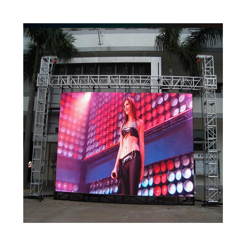 Full <strong>Color</strong> <strong>P10</strong> Outdoor Led Screen Module 320*160mm 1/4S DIP570 Led Advertising Screen