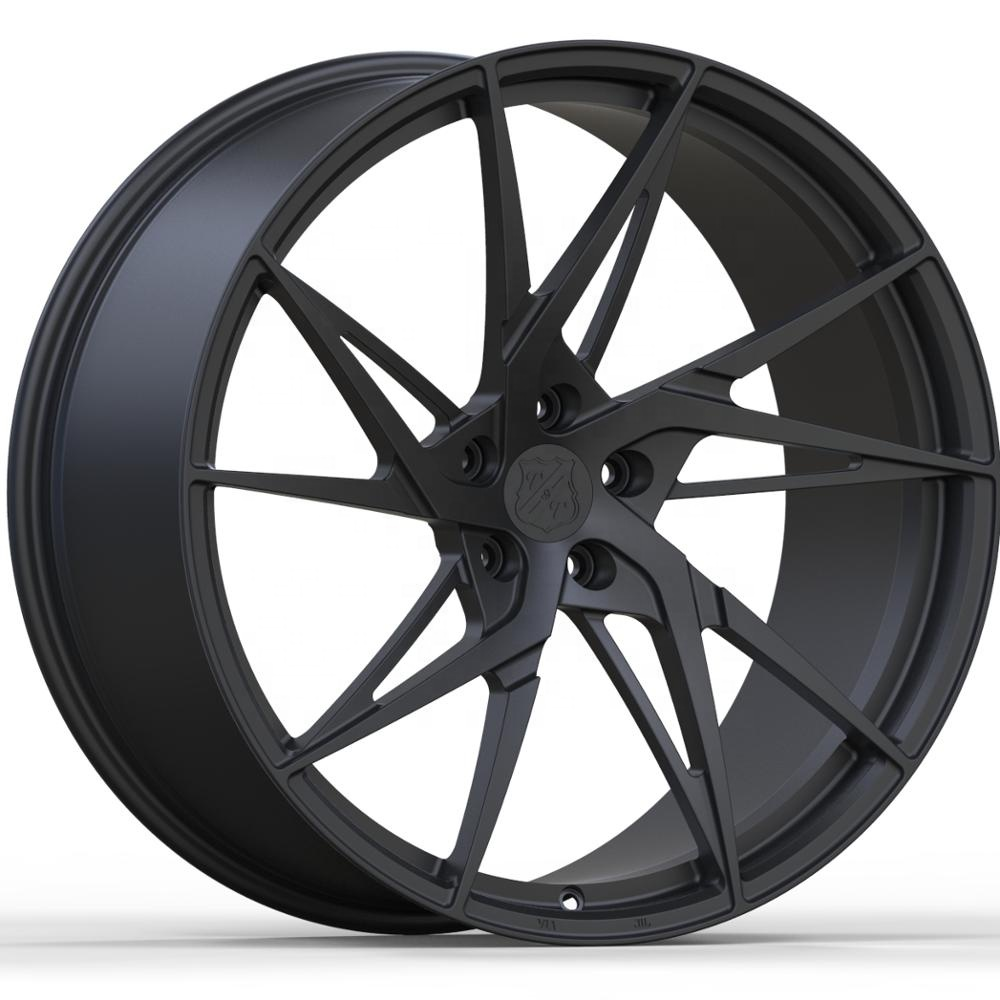 Factory Price Hot Sale Forged Aluminum Car Wheels Concave Matte Black 5x114.3 <strong>Alloy</strong> Rims22 Inch