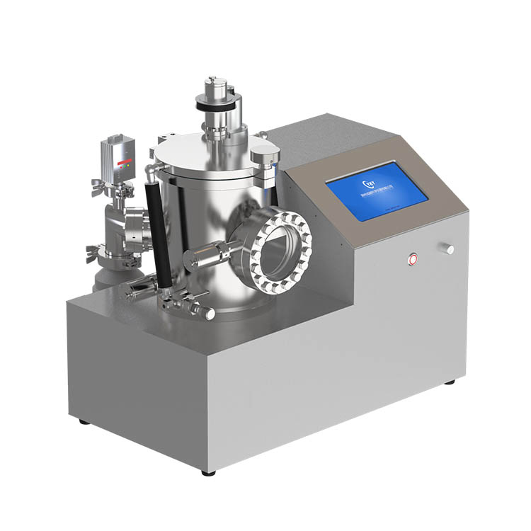 Lab high vacuum PVD thin film evaporation coating system for coating platinum