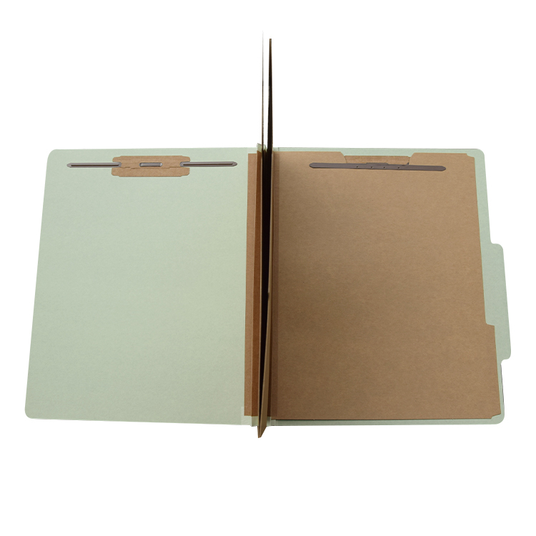 Pressboard Classification Folders, 3 Divider - 2 Inch Tyvek Expansions,Designed to Organize Standard Medical Files