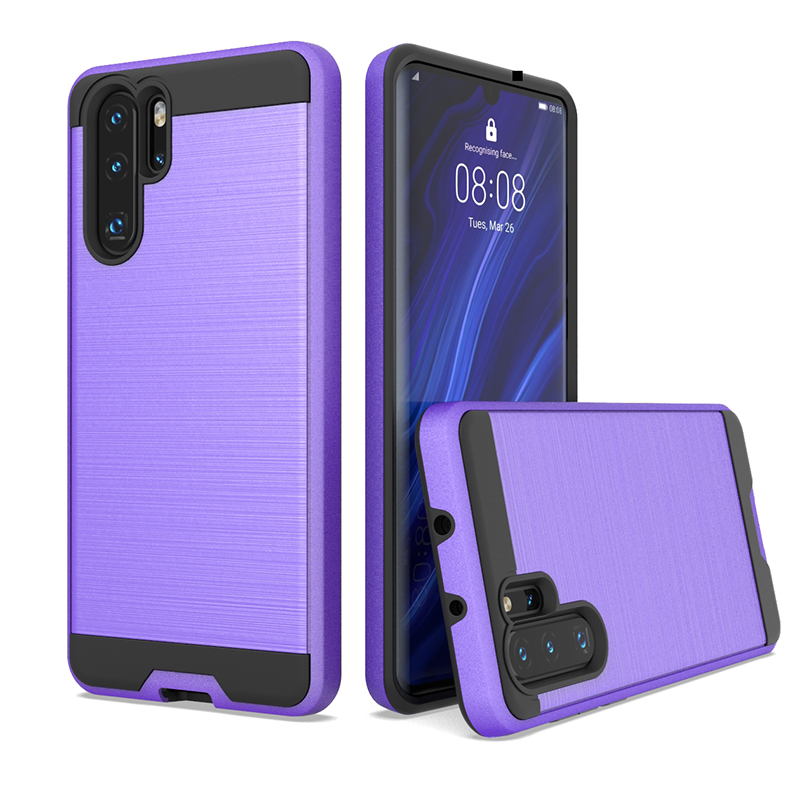 Shock proof armor brushed metal case for HUAWEI Y9 prime 2019/<strong>P</strong> smart Z mobile phone cover
