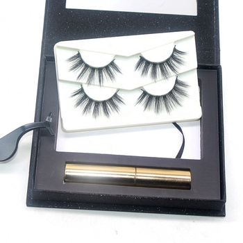 New Compact Hot Style Magnetic Eyelashes No Glue Eye Liner High Quality Eyeliner