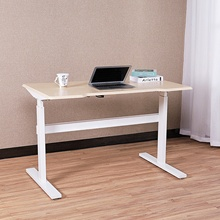 Electric Height Adjustable Standing Desk, Heavy Duty Steel Stand Up Desk <strong>w</strong>/Automatic Smart Keypad