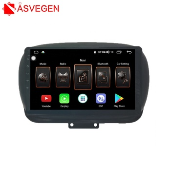 Factory Touch Screen Car Audio Radio DVD  Car Stereo Player  With Bluetooth For Fiat 500X Car Video Player