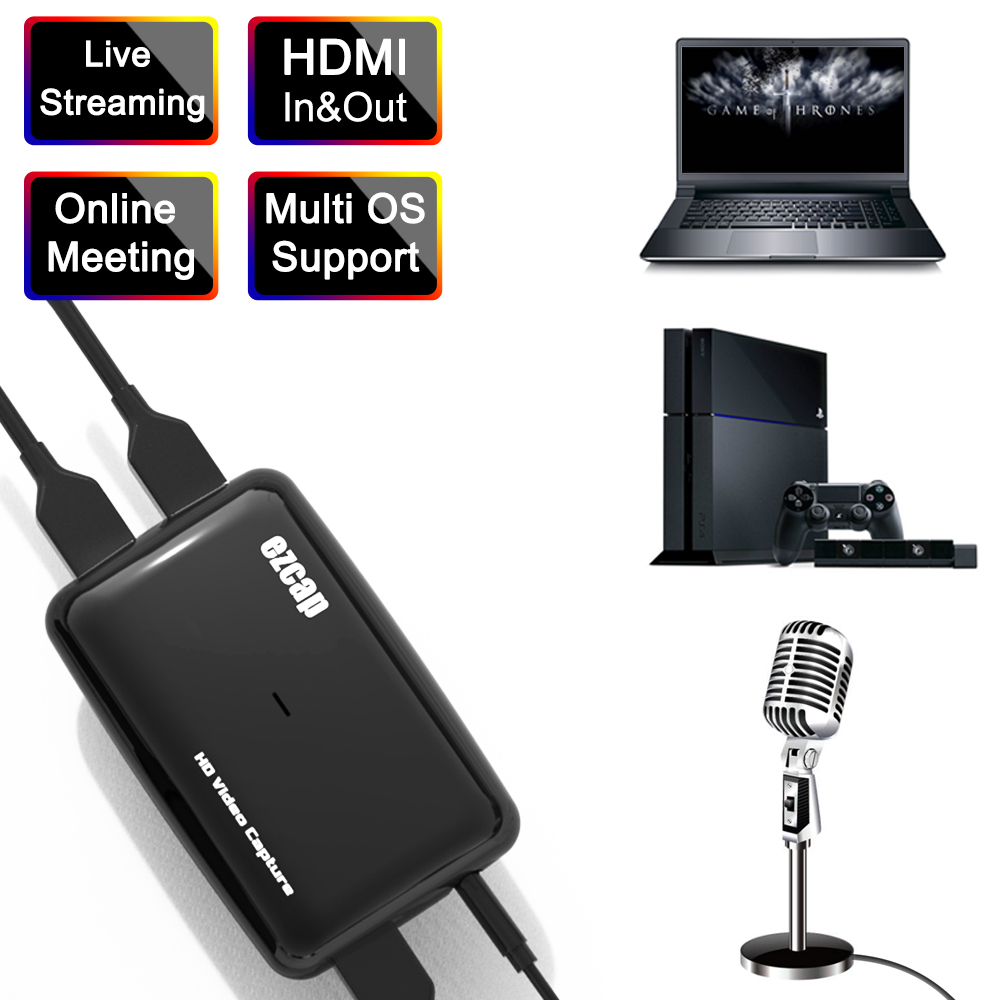 USB 3.0 HDMI Game Capture ezcap301