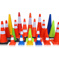 Economy Reflective Construction Safety Road 750mm Traffic Cones