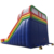 Colorful Inflatable Slip N Slide Bouncer Kids Climbing Dry Slides Inflatable Outdoor Game Playground For Sale