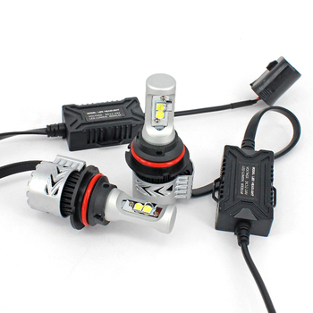 Auto led lighting system Dual beam xhp50 6000LM G8 led fog light H4 9003 H13 9004 automotive led bulbs