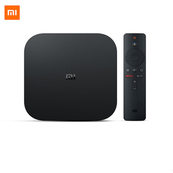 Factory Sale Xiaomi Mi Box S Smart TV 4K Ultra HD 2G 8G Android TV Box WIFI Google Cast Netflix Media Player IPTV subscription