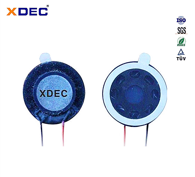 XDEC-15M-1 <strong>D15</strong>, H4.0, 8 ohm, 0.5W super slim mylar speaker units
