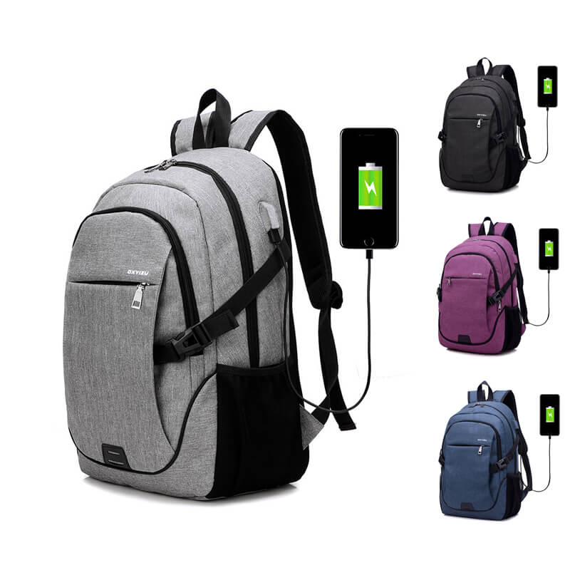 Business mens laptop bags waterproof custom usb charging laptop <strong>backpack</strong>