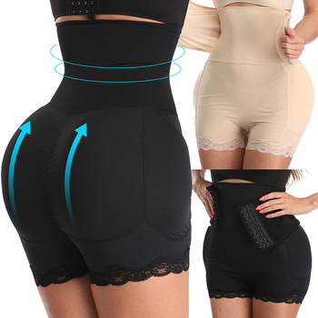 Waist Trainer Slimming Underwear Body Shapewear Women High Waist Panties Tummy Control Butt Lift Lace Corset Boy Shorts Shaper