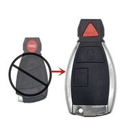 Factory direct supply modified 2 + 1 3 button auto remote key fob for mercedes benz