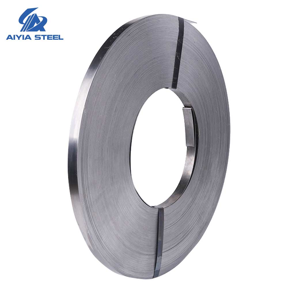 AIYIA Q235,<strong>Q195</strong>,Q215 galvanized steel band,galvanized steel tape,hot dipped galvanized steel strip