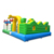 Customized Animal Palace Inflatable Bouncy Jumping Playground Large Castle Inflatable Giraffe Amusement Park