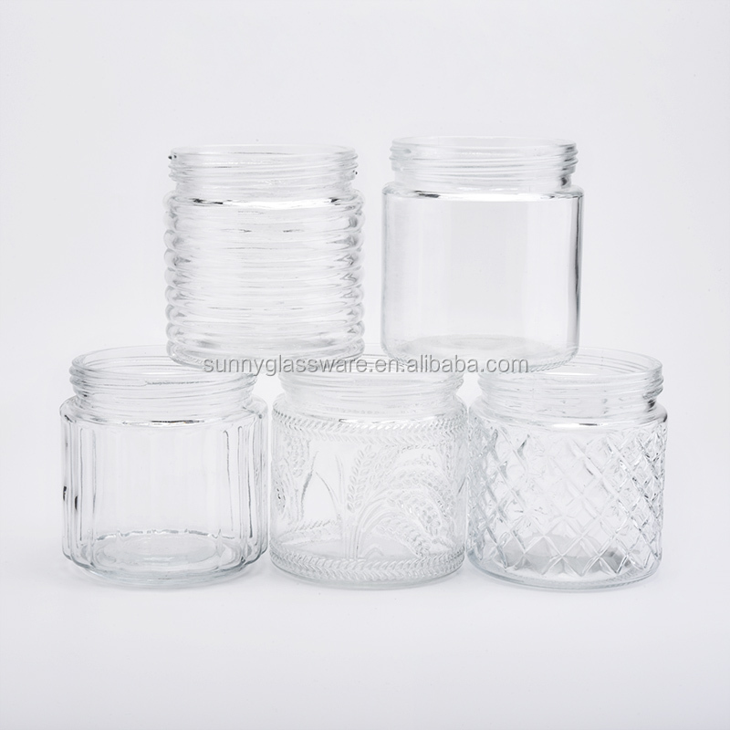 clear cheap standard mason jars for candle