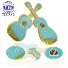 Metal insignia factory customized fashion violin soft enamel insignia exquisite cartoon pin custom manufacturers