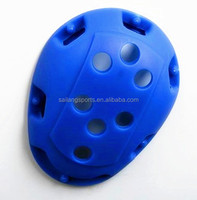soft earguards on water polo caps on two faces for protecting ear protector for water under water
