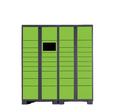 Intelligent Parcel Delivery Locker with <strong>Mobile</strong> App &amp; LCD Screen for Office/Building/Supermarket