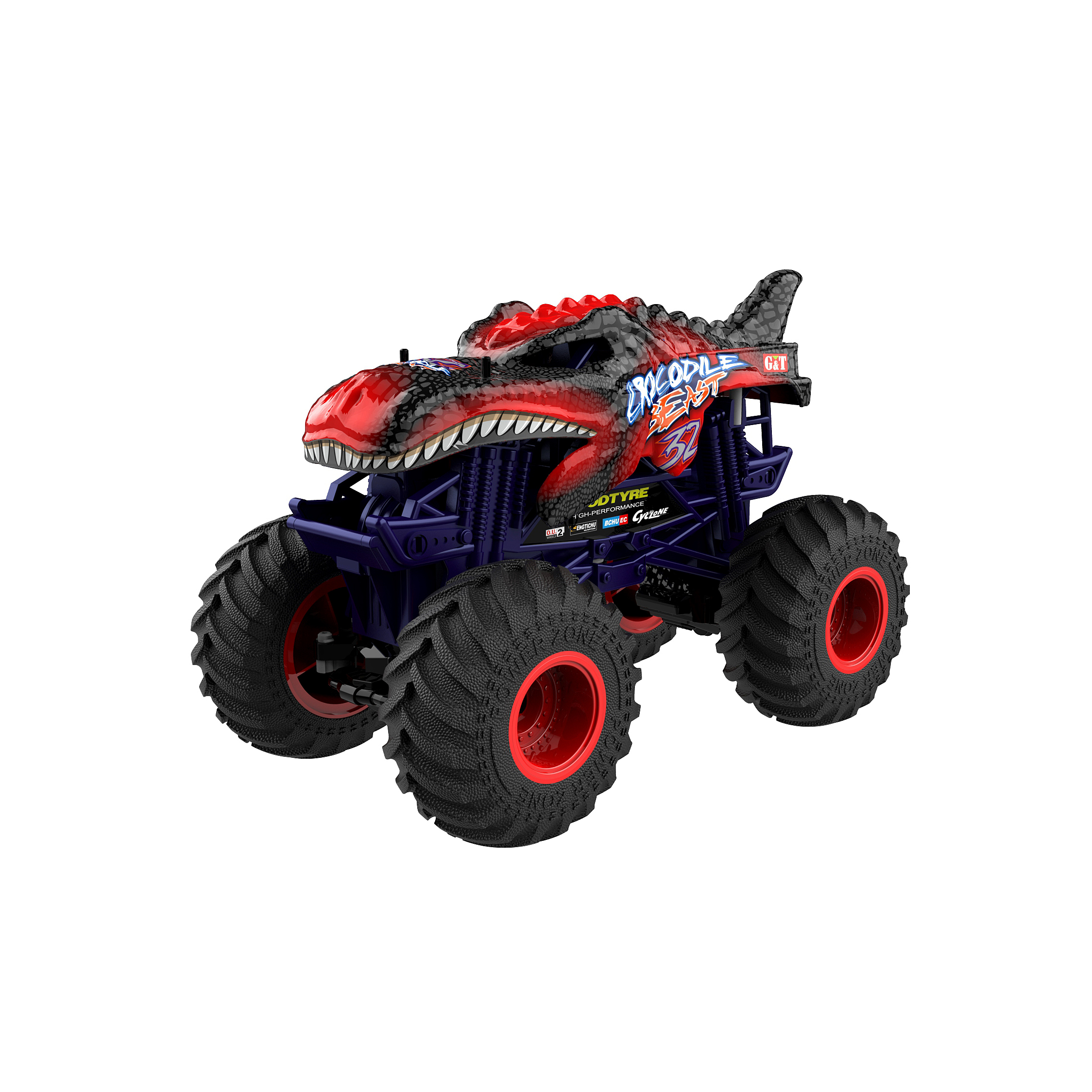 New Arrival 1:10 Scale High Speed 15km/h Radio Control RC Monster Car Truck 4WD Remote Control RC Drift Vehicle Monster Car <strong>110</strong>