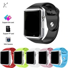 2019 Wireless WIFI <strong>Smart</strong> <strong>Watch</strong> A1 Sport Wrist <strong>Watch</strong> For Apple and Android With Camera FM Support SIM Card <strong>Watch</strong>