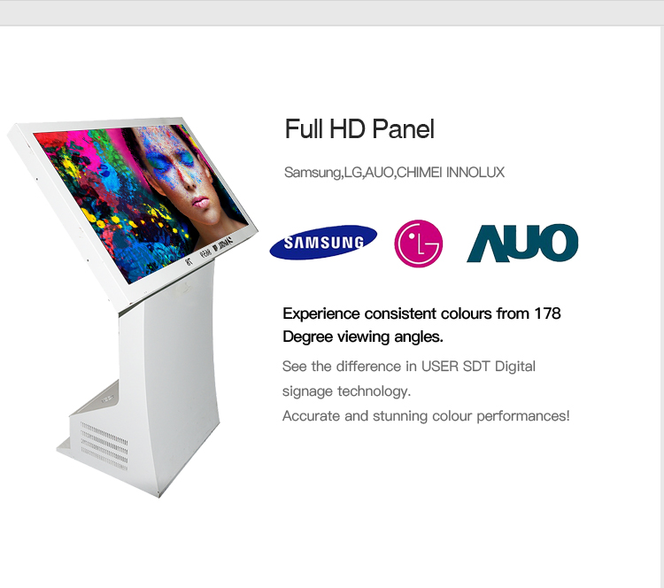55 Multi Touch All In One PC with Touch Screen,wifi, win8 system