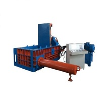 Aluminum <strong>Scrap</strong> Baler Machine / Steel Shavings Bale Packing Machine / Steel Wire Baling Machine