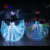 LED Long Dress LED Light Dance Costumes Luminous princess dress Girls Dresses Carnival festival wedding dress Rave Clothes