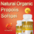 Professional manufacturer wholesale health supplements natural honey bee propolis softgels