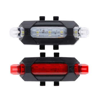 Bicycle light LED Taillight Rear Tail Safety Warning Cycling Portable Light