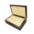 Luxury Black Matte Finish Wooden Watch Box For 8 Watches