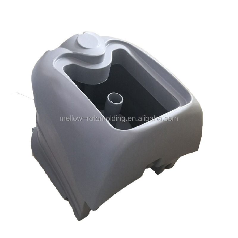 customized plastic dust collect box for floor sweeper