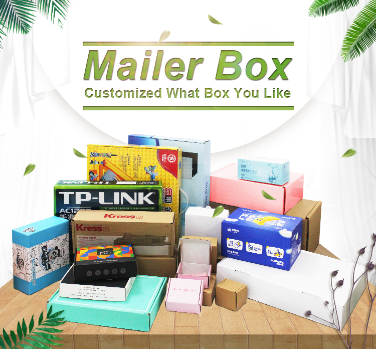 Make Your Customers to Catch Up the Glancy Look of Attractive Mailer Boxes