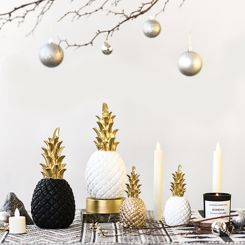 Living Room Decorative Golden Pineapple <strong>Decoration</strong>