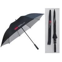 Automatic open popular straight promotional golf umbrella with uv protect