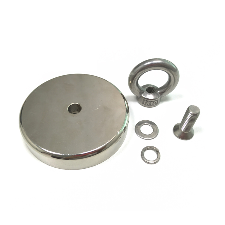 <strong>D120</strong> 600KG Powerful heavy duty Permanent Fishing Magnetic Pot Magnet