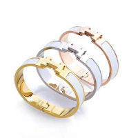 Wholesale bracelet woman fashion brand jewelry stainless steel Bangles bracelet