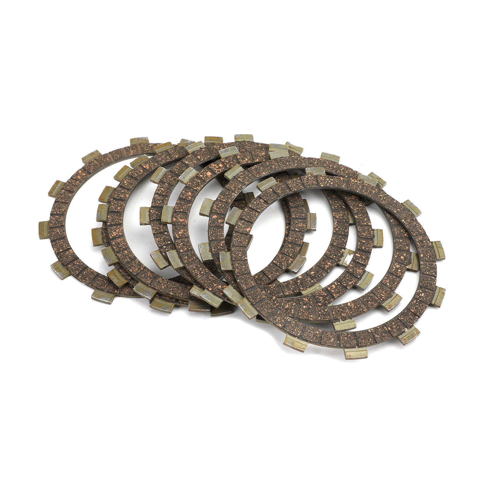 Areyourshop Clutch Kit Steel &amp; Friction Plates For Yamaha XJ600 51J XS500 <strong>B</strong>/C/<strong>D</strong> FZ600 YX600