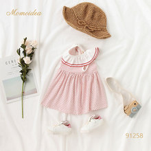 boutique dot pattern newborn baby <strong>girls'</strong> wear <strong>dress</strong> <strong>girl</strong> for summer
