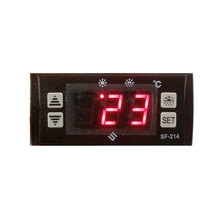 SF214 mini thermometer refrigeration defrost digital temperature controller with little meter