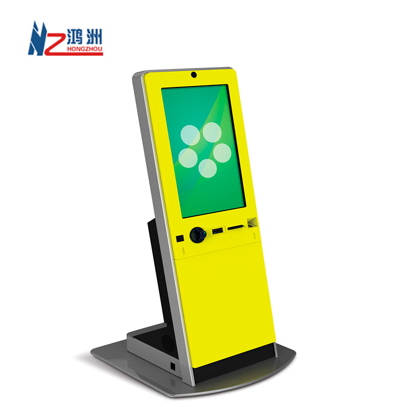 Floor Standing Interactive Kiosk <strong>Payment</strong> terminal self service Kiosk with built-in Printer