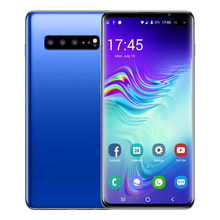 S10 + Mobile <strong>Phone</strong> 6.5-Inch Curved Screen 6GB + 128GB Facial Fingerprint Unlock 4800 Large-Capacity Android Smartphone