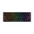 Wired English Russian Red Brown Black Blue Switch RGB 61 keys Mechanical Keyboard For Office